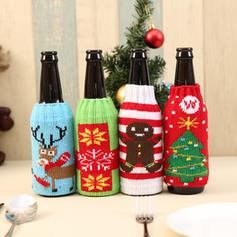 Boże Narodzenie Akryl Pokrywa butelki kopalni