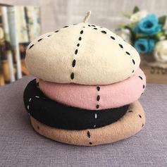 Señoras' Hermoso/Encanto Acrílico/Mezcla de lana Boina Sombrero