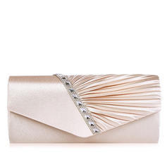 Attractive Satin Clutches/Satchel