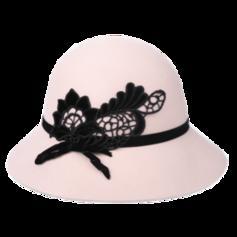 Ladies' Glamourous/Fancy Wool Floppy Hats