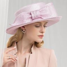 Dames Qualité/Romantique/Style Vintage Batiste Chapeaux de type fascinator/Kentucky Derby Des Chapeaux/Chapeaux Tea Party
