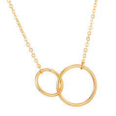 Classic Simple Titanium Steel Women's Necklaces