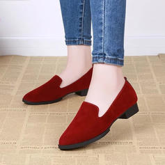 Women's PU Flat Heel Flats shoes