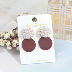 Stylish Cloth Alloy Women's Fashion Earrings (Sold in a single piece)