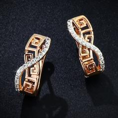 Gorgeous Alloy Copper Ladies' Fashion Earrings