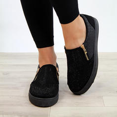 Women's PU Casual With Zipper shoes