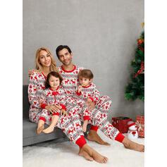 Rendier Voor Gezinnen Kerst Pyjamas