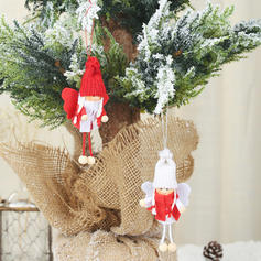 Christmas Angel Hanging Cloth Tree Hanging Ornaments Doll (Set of 2)
