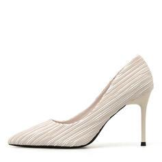 Pentru Femei Piele de Căprioară Toc Stiletto Încălţăminte cu Toc Înalt pantofi