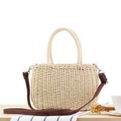 Unique/Charming Paper Rope Tote Bags/Shoulder Bags/Beach Bags/Bucket Bags