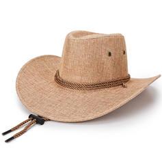 Mænd Enestående Linned Cowboy Hat