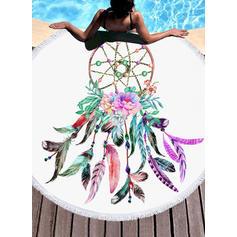 Attrapeur de rêves Énorme/rond serviette de plage