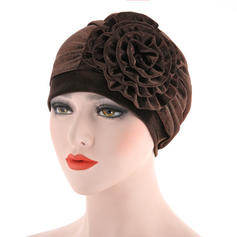 Ladies' Classic Cotton With Flower Floppy Hats