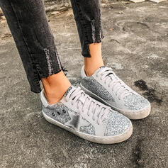 Women's Microfiber Leather Casual Outdoor With Sequin shoes