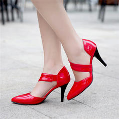Women's Leatherette Stiletto Heel Sandals Pumps Closed Toe With Others shoes