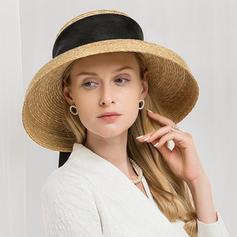 Ladies ' Gorgeous/Glamourøse Raffia Straw Strand / Sun Hatte/Kentucky Derby Hatte