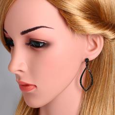 Einzigartig Legierung Zirkon mit Zirkon Frauen Art-Ohrringe (Sold in a single piece)