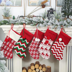 Christmas Merry Christmas Hanging Gift Bag Knit Christmas Stocking
