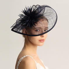 Ladies' Special/Glamourous/Elegant/Unique/Fancy/Romantic/Vintage/Artistic Cambric/Feather Fascinators/Kentucky Derby Hats