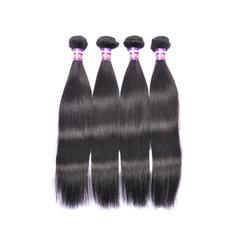 4A Tout droit les cheveux humains Tissage en cheveux humains (Vendu en une seule pièce) 100 g