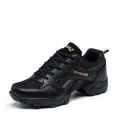 Hombres Zapatillas Zapatillas Cuero Tejido con Cordones Zapatillas