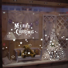 Modern Classic Christmas Any Shape Wall Stickers