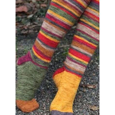 Striped/Bohemia/Colorful Comfortable/Women's/Christmas/Calf Socks/Adult Socks/Stockings