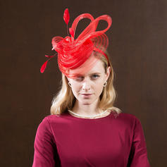 Ladies' High Quality/Romantic/Vintage Polyester With Feather Fascinators