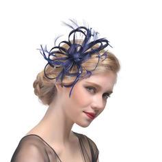 Ladies ' Smukke Kambriske med Fjer Fascinators/Tea Party Hats