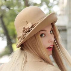 Señoras' Hermoso Madera Bombín / cloché Sombrero