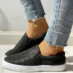 Полотно Випадковий На відкритому повітрі з Зашнурувати В'язаний одяг взуття