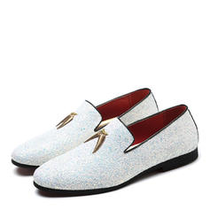 Casual Sparkling Glitter Men's Men's Loafers