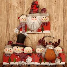 Boże Narodzenie Lalka Drewno Dekoracje świąteczne