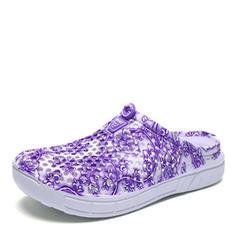 Kvinnor PVC Flat Heel Platta Skor / Fritidsskor med Ihåliga ut skor