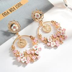 Alloy Resin Women's Earrings