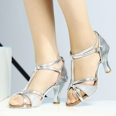Women's Latin Sandals With T-Strap Latin