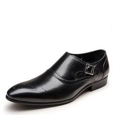 Brogue Mnící popruhy Společenské boty Práce Koženka Pánské Pánská obuv Oxford