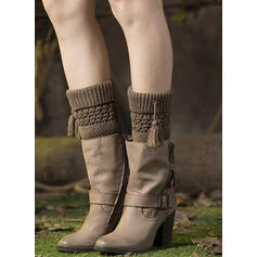 Solid Color Comfortable/Women's/Leg Warmers/Boot Cuff Socks Socks