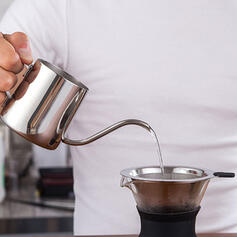 Classical Elegant Stainless Steel Coffee Pot