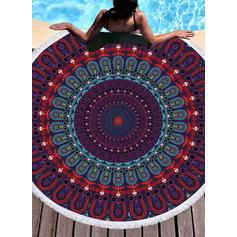 Retro /Cru Énorme/attrayant serviette de plage