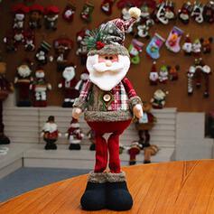 рождество Снеговик северный олень Санта хлопок кукла Рождественские украшения