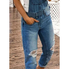 Solid Fritids Jeans overaller