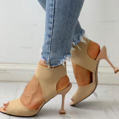 De mujer PU Tacón stilettos Salón con Otros zapatos