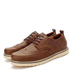 Brogue Casual Real Leather Men's Men's Loafers