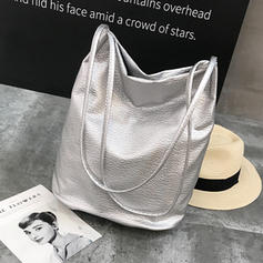 Bolsos de hombro de PU de viaje de alta capacidad casual para mujer