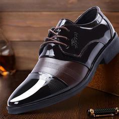 Hommes Latin Modern Style Chaussures plates Cuir en microfibre Latin