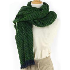 Смугастий Мода/Холодна погода Шарф