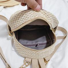 Clássica/Estilo boêmio/Trançado mochilas