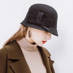 Ladies ' Moda/Uroczy/Bardzo Wełna Floppy Hat