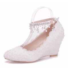 f9906db89d1 Wedge Heel, Wedding Shoes, Bridal Shoes, Wedding Shoes 2019 | elleins